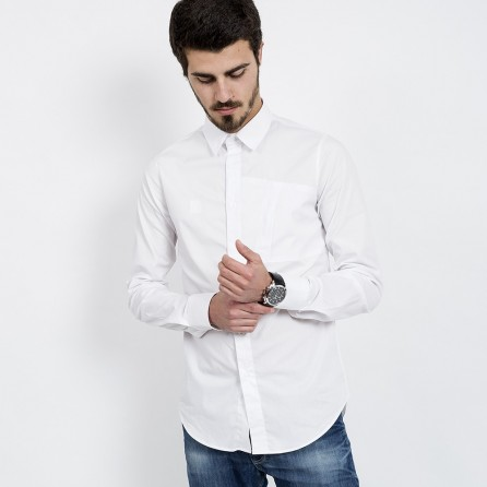 WHITE LIGHT SHIRT